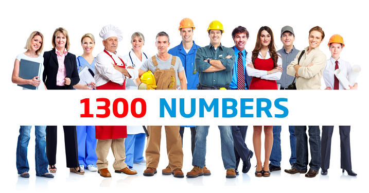 how to find 1300 numbers