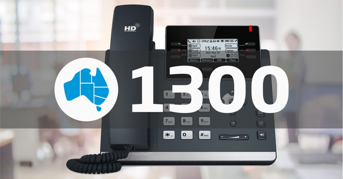 Combine NetPhone and 1300 Number for a Complete Office Phone Solution