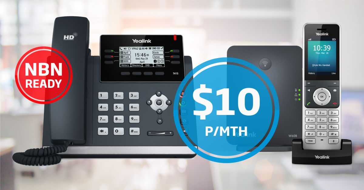 NEW NetPhone. The Complete Business Phone Bundle.